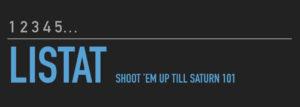 Listat: Shoot 'em up till Saturn 101